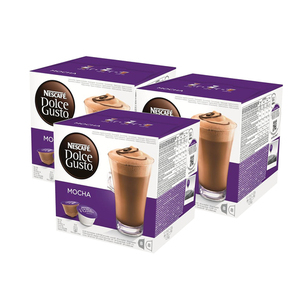 Nescafe Dolce Gusto Mocha 3 Pack (16ct per pack)