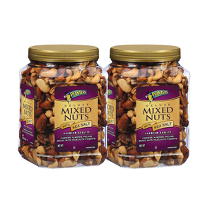 Planters Deluxed Mixed Nuts with Sea Salt 2 Pack (963g per pack)