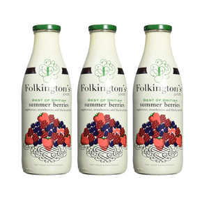 Folkington's Summer Berries Juice 3 Pack (1L per pack)