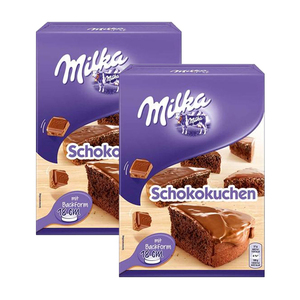 Milka Chocolate Cake Mix 2 Pack (230g per pack)