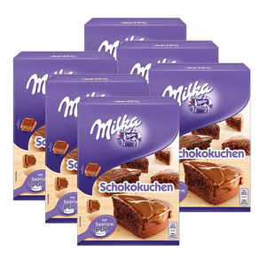 Milka Chocolate Cake Mix 6 Pack (230g per pack)