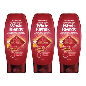 Ganier Whole Blend Color Care Conditioner 3 Pack (650ml per pack)