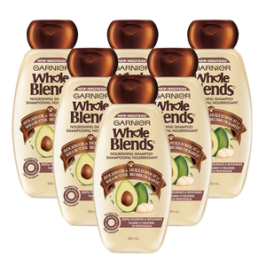 Garnier Whole Blend Nourishing Shampoo 6 Pack (650ml per pack)