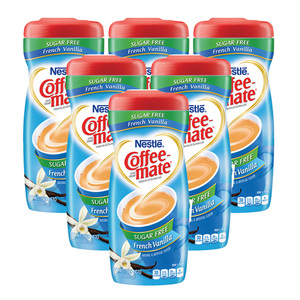 Nestle Coffeemate French Vanilla Sugar Free 6 Pack (289.1g per pack)