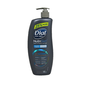 Dial For Men Nutri Skin Body & Face Lotion 776ml