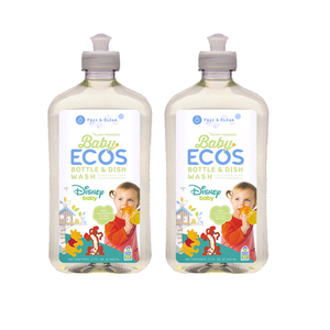 Ecos Baby Bottle & Dish Wash 2 Pack (500ml per pack)