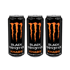 Monster Khaos Energy Drink 3 Pack (473ml per pack)