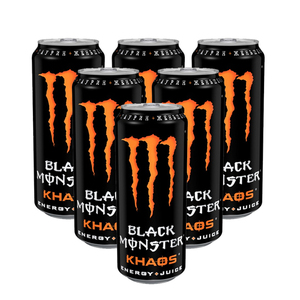 Monster Khaos Energy Drink 6 Pack (473ml per pack)