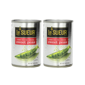 Le Sueur Very Young Small Sweet Peas 2 Pack (425g per pack)