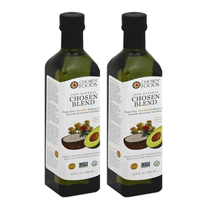 Chosen Foods Organic Toasted Sesame Oil 2 Pack (1L per pack)