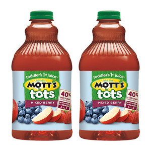 Mott's for Tots Mixed Berry 2 Pack (181g per Bottle)