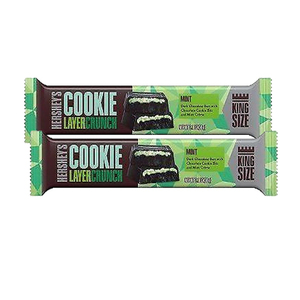 Hershey's Cookie Layer Crunch Bars 2 Pack (59.5g per pack)