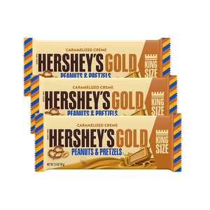 Hershey's Gold Candy Bar Caramelized Creme 3 Pack (70g per pack)