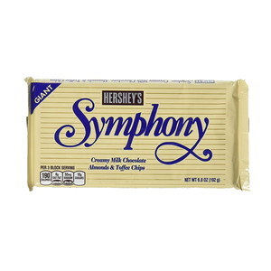 Hershey's Symphony Giant Almonds & Toffee Milk Chocolate Bar 192g