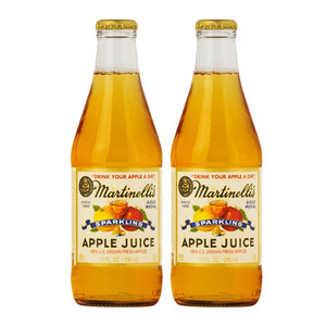 Martinelli's Sparkling Apple Juice 2 Pack (296ml per Bottle)