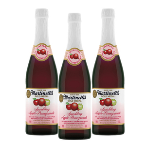 Martinelli's Sparkling Apple-Pomegranate Juice 3 Pack (750ml per Bottle)