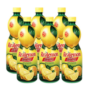 Realemon Lemon Juice 6 Pack (945ml per pack)