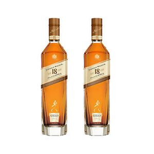 Johnnie Walker Aged 18 Years Blended Scotch Whisky 2 Pack (750ml per pack)