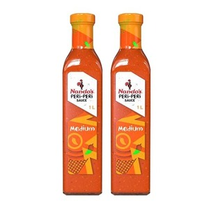 Nando's Medium PERi-PERi Sauce 2 Pack (1L per Bottle)