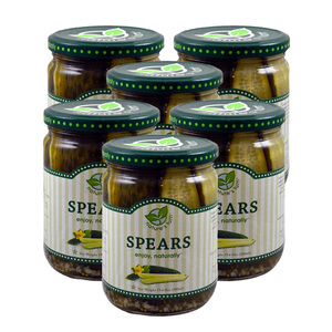 Nature's Turn Pickle Spears 6 Pack (555.6g per pack)