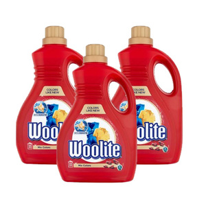 Woolite Detergent Red Mix Colors 3 Pack (2L per pack)