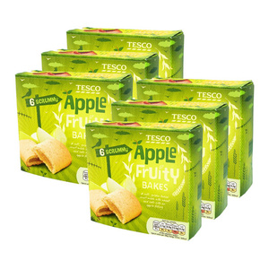 Tesco 6 Apple Fruity Bakes 6 Pack (222g per pack)