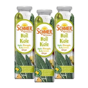 Sommer Naturals Hail Kale Juice 3 Pack (300ml per Can)