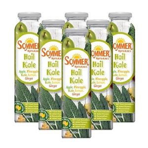 Sommer Naturals Hail Kale Juice 6 Pack (300ml per Can)