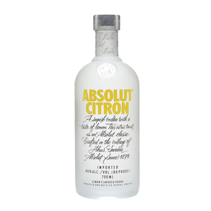 Absolut Citron Vodka 700ml