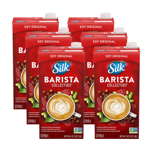 Silk Barista Collection Soy Original 6 Pack (1.89L per Pack)
