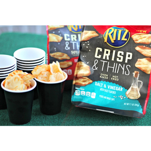 Nabisco Ritz Salt & Vinegar Crisp & Thins Chips 201g