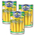 Hosen Quality Baby Corn Young Corn Spear 3 Pack (425g per pack)