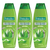 Palmolive Naturals Healthy & Smooth Shampoo 3 Pack (400ml per pack)