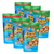 Chips Delight Mini Butter Oatmeal Chocolate Chip Cookies 6 Pack (130g per Pack)