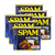 Hormel Spam Black Pepper Luncheon Meat 6 Pack (340g per Can)