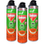 Baygon Protector Multi Insect Killer - Double Nozzle 3 Pack (500ml Per Bottle)