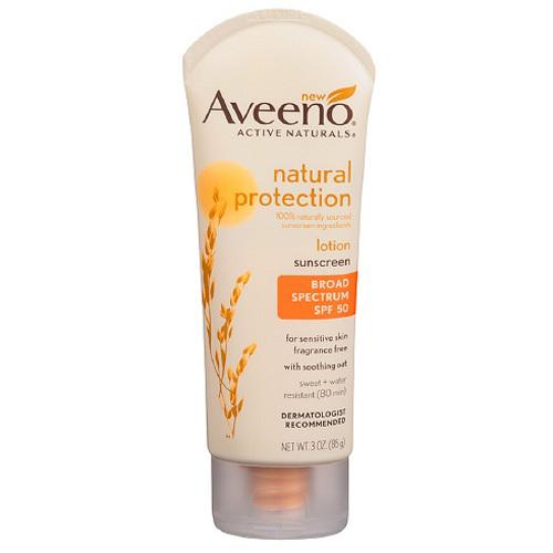 Natural sunscreen moisturizer